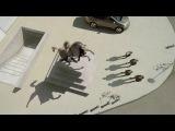 Крутой ролик с использованием оптических иллюзий! Вы просто не поверите своим глазам :)